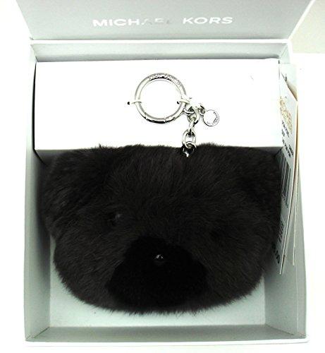 (Michael Michael Kors Teddy Bear Pom Fur Key Chain Toy Fob Bag Charm)