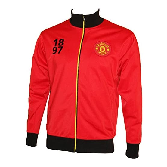 Manchester United Veste zippée Collection Officielle - Taille Adulte Homme