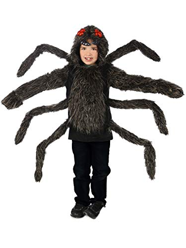 Princess Paradise Baby's Child Tarantula Hoodie, Black, Small/Medium -