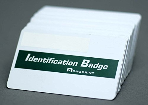 Acroprint 14-0113-002 TQP Badges (Pack of 50) For use with with timeQplus systems, Sequentially Numbered 51-100, Magnetic stripe employee badges by Acroprint