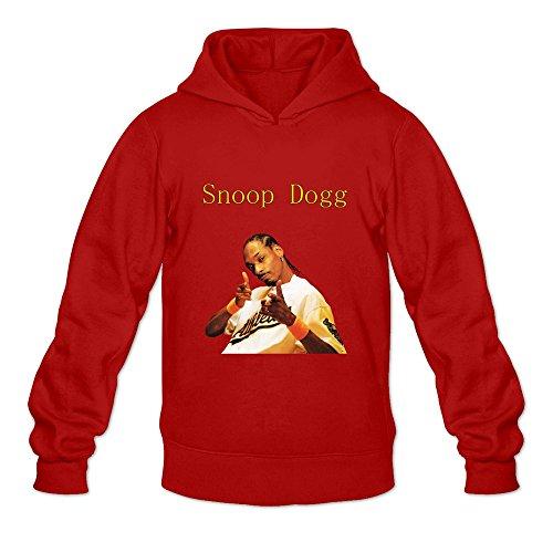 Buluew Men's Korea Snoop Dogg Hoodies Sweatshirt Size XL US Red