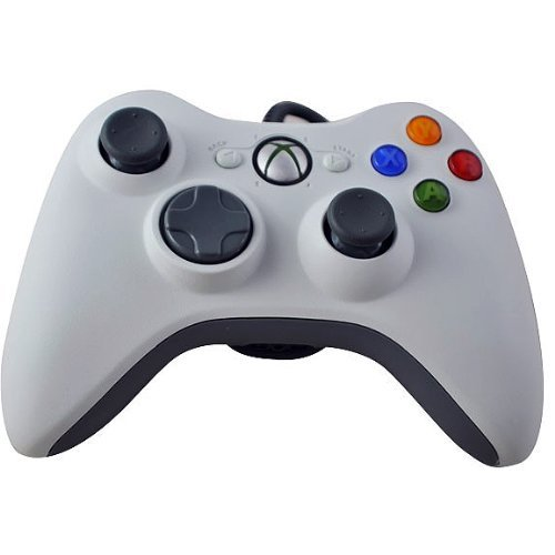 UPC 661799858700, Chromo Inc® Wired USB Controller for the Xbox 360 or PC in White