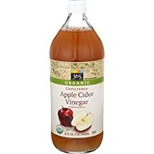 365 Everyday Value Organic Unfiltered Apple Cider Vinegar, 32 oz
