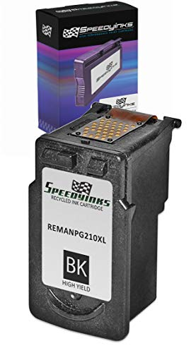 - Speedy Inks Remanufactured Ink Cartridge Replacement for Canon PG210XL High-Yield (Black)