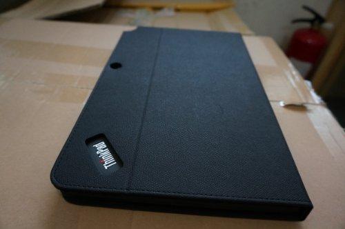 half off 185f6 e95a2 Amazon.com: PU Leather Folio Case Cover for Lenovo Thinkpad Helix ...