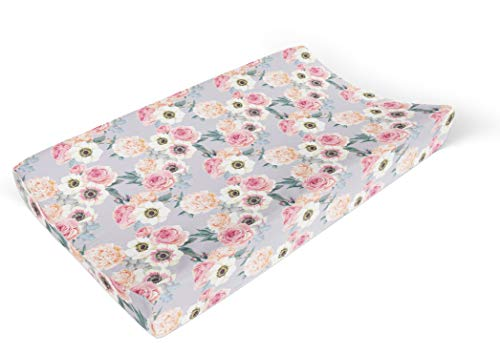 Posh Peanut Baby Changing Pad Cover Stretchy Bambo Viscose, for Standard 16