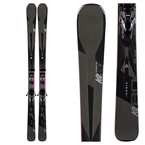 K2 Ikonic 80 Skis w/Marker M3 10 Compact Quikclik Bindings Mens