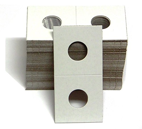 1-100 Pack of 2x2 Small Cent Coin Cardboard Holder - 41kHfY2B4ZTL