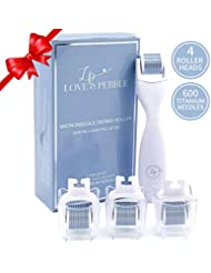Derma Roller Microneedle Kit for Face and Body with...