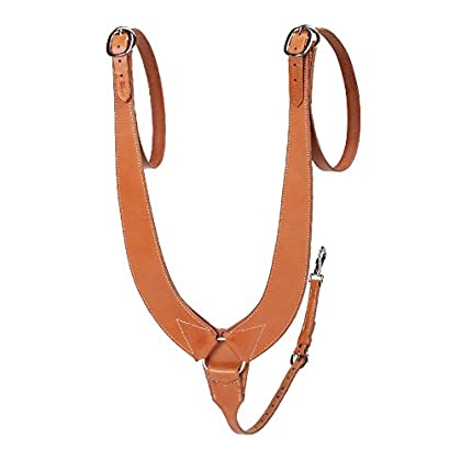 Image of Breastplates Colorado Saddlery The Pulling Breast Collar