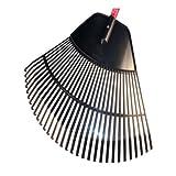 Bully Tools 92630 30'' Poly Leaf Rake - Quantity 3