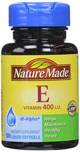 Nature Made vitamine E 400, UI gélules, 100 ct