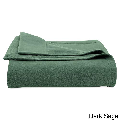 - 3 Piece Sage Microfleece Sheets Twin, Green Texture Sheet Set Micro Fleece Bedding Textured Teen Bedroom Decor Luxury Solid Color Soft Comfort Moisture Wicking Breathable Warm Durable, Polyester