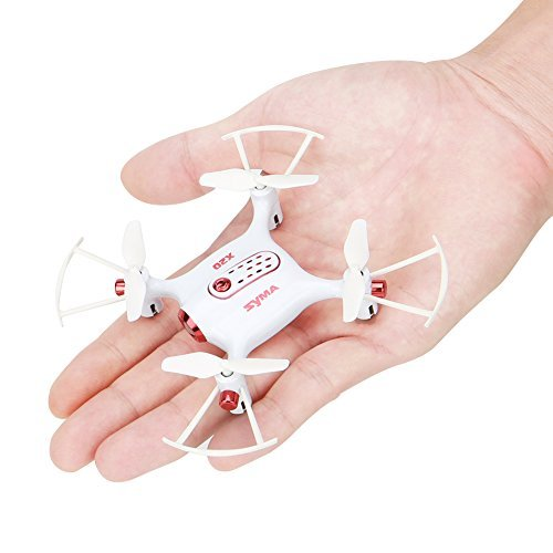 Syma X20 RC Drone Mini Pocket Drone LED RC Quadcopter