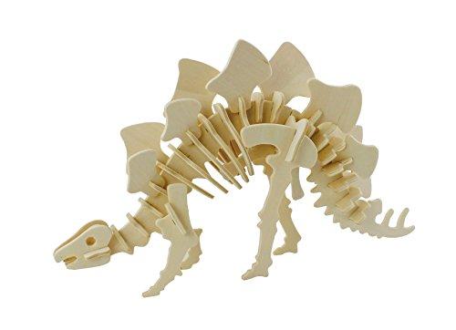 Hands Craft JP221 DIY 3D Wooden Puzzles (Stegosaurus)