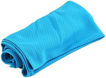 Toalla de Gimnasio para Deportes Hielo fr/ío Funcionamiento Enfriado Enfriamiento instant/áneo Toallas absorbentes de Sudor XINJIA Toalla de enfriamiento para Deportes