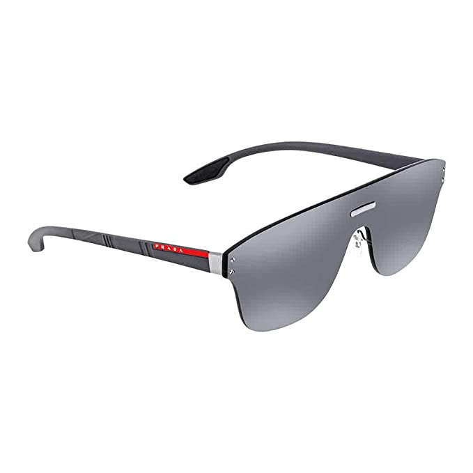 Prada Linea Rossa 7W17W1 Gafas de sol, Gunmetal, 45 para ...