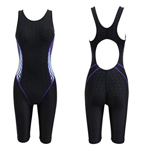 Zhuhaitf Alta calidad Womens Comfortable Swimsuit Summer Quick-dry Swimming Costume Black