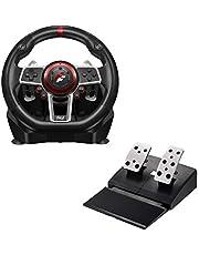 Flashfire Suzuka 900A Racing Wheel Set for Xbox, Xbox 360, PS3, PS4, Wii, PC