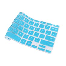 Keyboard Cover for Acer Chromebook, FORITO Silicone Keyboard Skin for Acer Chromebook 11 CB3-131 15 CB3-531-C4A5 CB5-132T CB5-571 C910 US Layout (NOT FIT FOR CB3-111 SERIES) (Hot Blue)