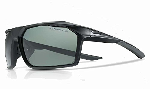Nike EV1043-001 Traverse P Sunglasses (Frame Grey Polarized Lens), Matte - Sunglasses Polarized Nike