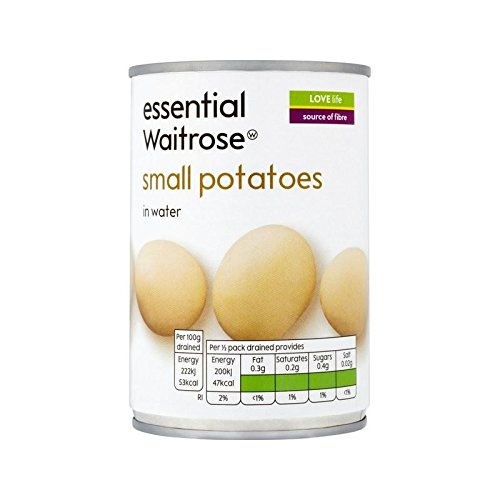 Small Potatoes essential Waitrose 300g - Pack of 4 by WAITROSE