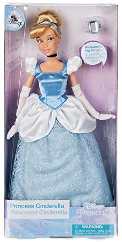 57dee0fac0 Image Unavailable. Image not available for. Color: Disney Store Cinderella Classic  Doll ...
