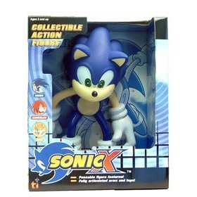 Amazon.com: Sonic X Sonic the Hedgehog Large 9 ...