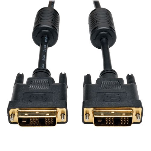 Tripp Lite DVI Single-Link Cable, Digital TMDS Monitor Cable (DVI-D M/M) 25-ft. (P561-025) by Tripp Lite