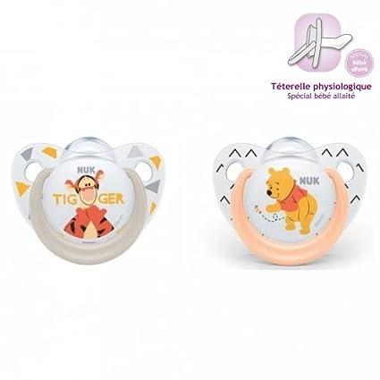 NUK 10735557 Disney Winnie The Pooh chupetes Trendline - 6 ...