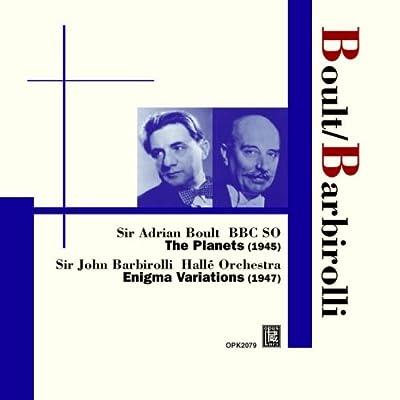 Boult A. - Barbirolli J. / Holst : Les Planètes. Elgar : Enigma Variations.