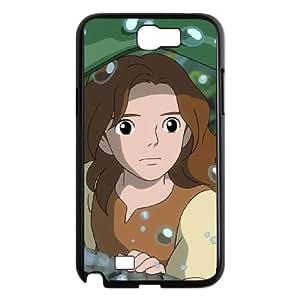 Samsung Galaxy N2 7100 Cell Phone Case Black Secret World of Arrietty 007 YD680501