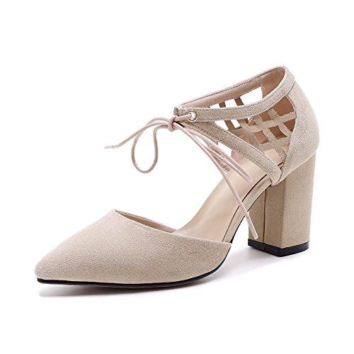 BalaMasa Huarache Resistant Womens ASL04767 Beige Urethane Sandals Water Sandals qTq6CHZw