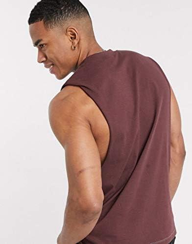 エイソス タンクトップ ノースリーブ アームホール メンズ ASOS DESIGN organic relaxed sleeveless t-shirt with dropped ar [並行輸入品]