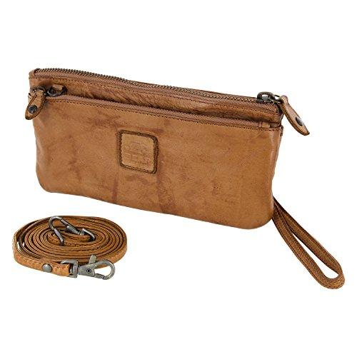 12 tressé Design cuir porte cm avec Beige en 2 sac 20 lavée bandoulière monnaie Bear CL13997 dragonne à 0ZxSwBqB