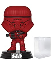 Star Wars: The Rise of Skywalker - Sith Jet Trooper Pop! Vinyl Figure (Includes Compatible Pop Box Protector Case)