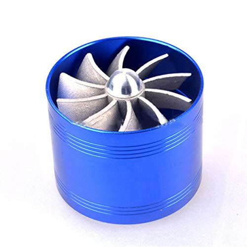 QTBWen Amazing Single Fan Turbine Supercharger Gas Fuel: Amazon.co.uk: Electronics