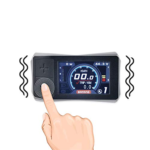 Bafang 500C Mini Color Display For 8fun Mid Crank Motor Conversion Kit BBS01 BBS02 BBSHD eBike Speedometer Controller by Vongcoki
