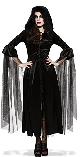 Rubie's Women's Mistress Of Midnight Costume Robe, Black, One Size