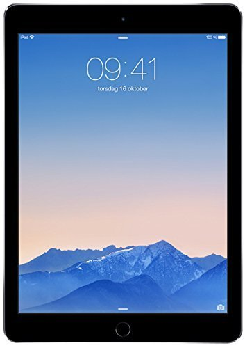 Apple MGKL2LL/A iPad Air 2 64GB, Wi-Fi, (Space Gray) (Renewed)