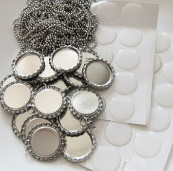 bottle cap pendants - 5