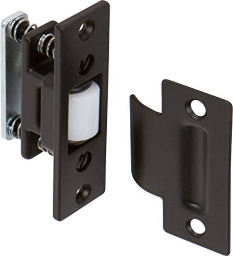 Rockwell Solid Brass Adjustable Roller Latch in Bronze Finish