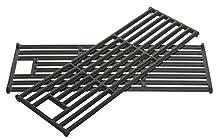 Outdoorchef - Set de parrillas de hierro fundido, color negro