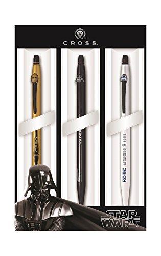 Cross Click Star Wars 3-Pack Gel Ink Pens - Darth Vader, C-3PO, R2-D2 (9857M3) by Cross (Image #3)