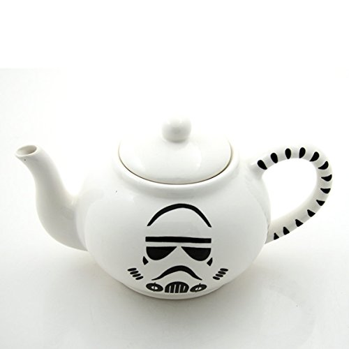 Storm Trooper Teapot - Handmade in the USA