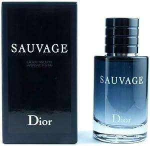 Christian Dior Eau de Toilette Spray for Men, Sauvage, 100ml