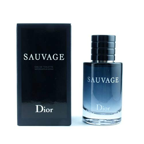 Dior Eau De Toilette Spray - Christian Dior Sauvage Eau De Toilette Spray for Men, 3.4 Fluid Ounce