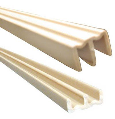 (Knape & Vogt 1/4x48 Plastic Track Set Tan)