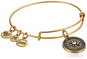 Alex and Ani True Direction Rafaelian Gold Bangle Bracelet