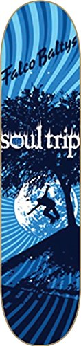 SOUL TRIP BALTYS SOUL TREE SKATEBOARD DECK 7.75 w/MOB GRIP (Tree Skateboard Deck)